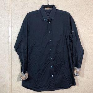 Burberry Golf Long Sleeve Button Down Shirt